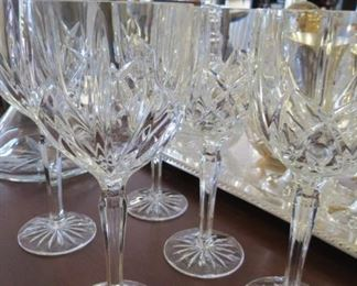 Marquis Waterford water goblets.