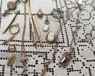Antique Victorian jewelry.