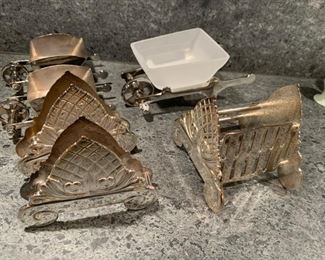 Silverplate Tabletop items - $10