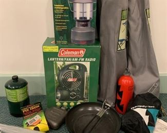 Lot of camping gear - $40