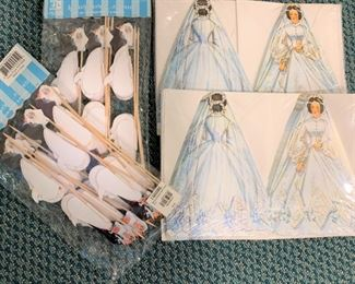 Wedding paper goods - $5