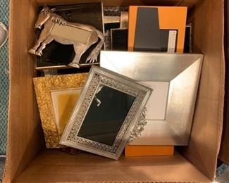 Box of Frames - $15