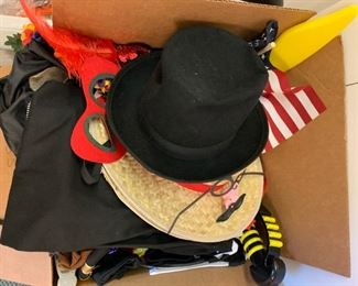 Mystery box of dress up costumes - $20