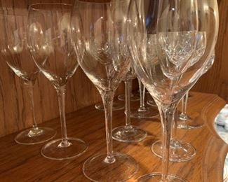 Lot of 6 Wine Glasses - $5 - 8 3/8""