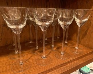 "Lot of 12 Glasses - 8 5/8"" - $20"
