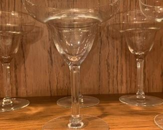 "Alternate view - Lot of Margarita Glasses - 6.5"" - $25"