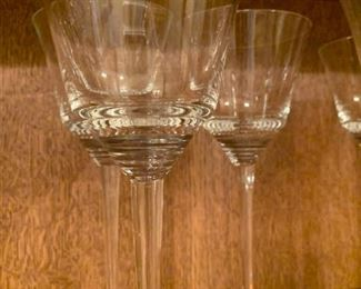 "Alternate view - Lot of Long Stemmed Glasses - 9 3/4"" - $20"