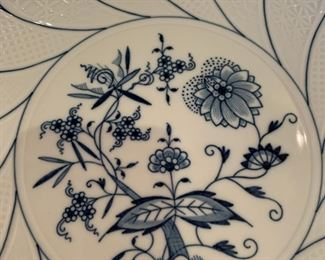 Alternate view - Meissen Blue Onion Plate - $35 - 11""