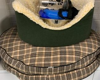 Lot of dog beds and accessories - $10