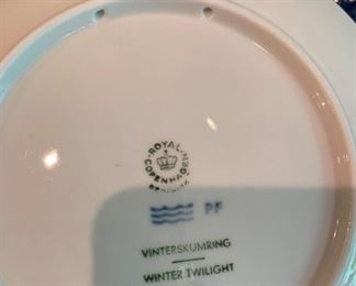 Alternate view - Lot of Royal Copenhagen and others collectible dishes - $25