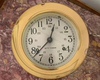 "Alternate view - Wall Clock - 6 1/2"" Diameter by 4""H - $20"
