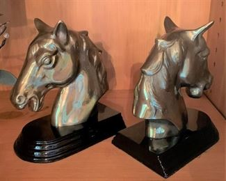 "Alternate View - Bookends - 6 1/4"" Tall - $20"