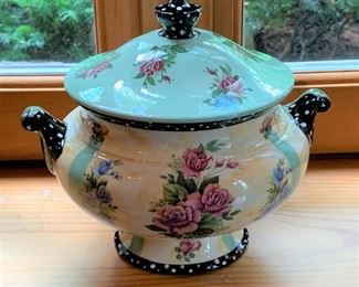 "Bill Smith Lidded Tureen - 9.5"" - $20"