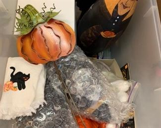 Lot of Halloween Decor - $10