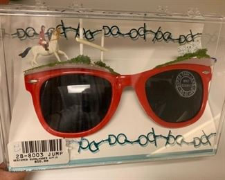 Novelty sunglasses - $10