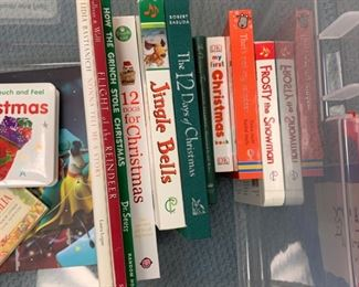 Alternate view - Lot of Children's Holiday Books and Other Fun Items - $25