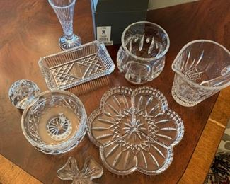Lot of Waterford Crystal Pieces - $75