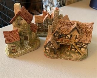 "Mini Cottages - 3 for $5 - each approx. 4"" long"