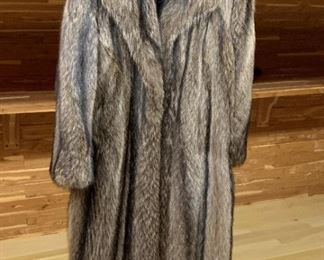 Fur Coat - $400 - Size 7