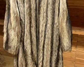 Alternate view - Raccoon Coat - $400 - Size 7
