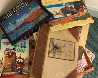 Alternate view - Box of children's books - $25