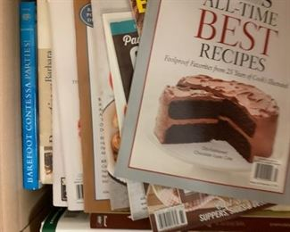 Box of Cookbooks - $25