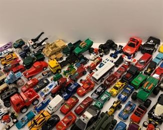 Lot of Matchbox size cars - $35