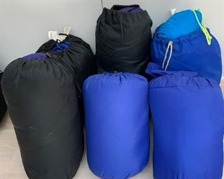 Lot of sleeping bags - $50