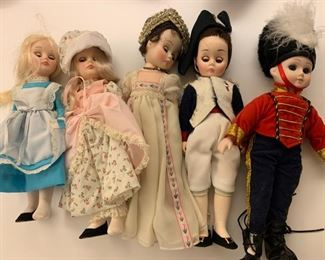 "Lot of dolls - $20 - Approx. 7"" tall"