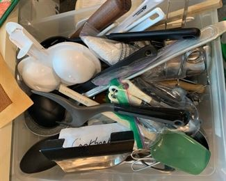 Huge lot of kitchen utensils - $20