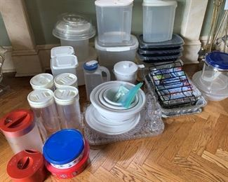 Lot of plastic ware - $20