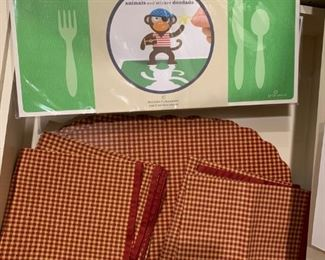 Lot of Placemats and Napkins - $10