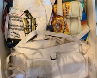 Large lot of cook's aprons - $15