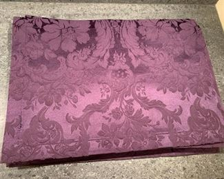Lot of 12 Purple Placemats - $30