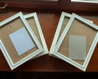 10 Assorted plastic photo frames 5 x 7 - $8