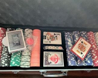 Portable Poker Set - $35