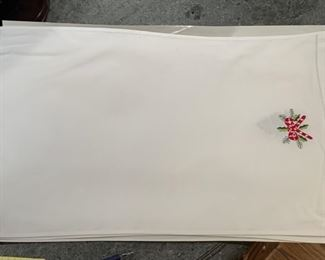 Lot of 3 holiday table placemats - $10