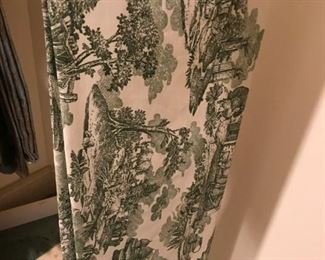 Alternate view - Large Toile Tablecloth and napkins - $60