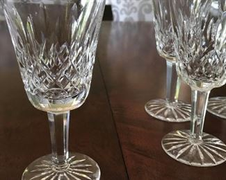 "Alternate view - 8 Waterford Lismore Glasses - 5 3/4"" - $85"