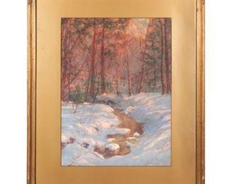 Walter Launt Palmer - American impressionist
