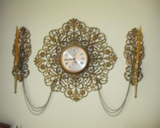 Art Deco Wall Clock Decor