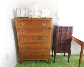 Chest of drawers 46 t 30 w 16 d