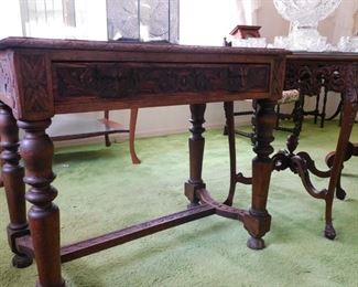 36 x 19 d x 30 t Many antique tables to choose from!