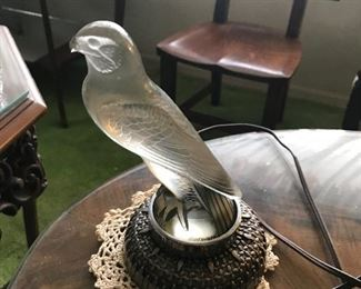 R. Lalique Car mascot ( both will be sold by sealed offers