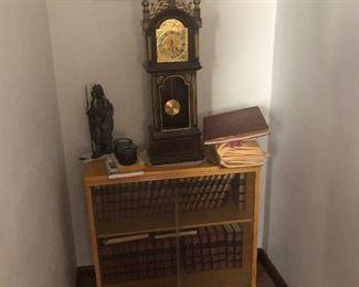 Blonde Mid Century Book Shelf