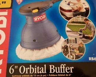 6 Ryobi Orbital Buffer