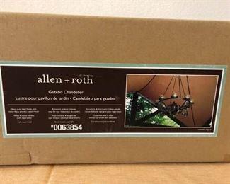 Allen Roth Chandelier  In Box