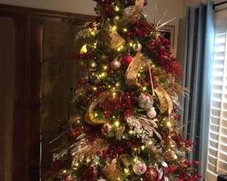 Bethlehem Pre Lit 7.5 Faux Christmas Tree