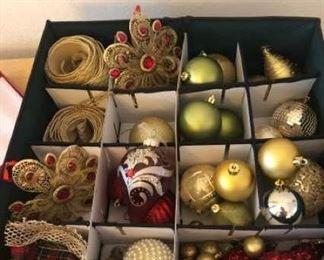 Ornaments Galore 2 with Canvas Storage Box