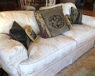 Taylor King Damask Sofa